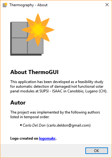 gui dialogs package — Thermography 1 1 documentation